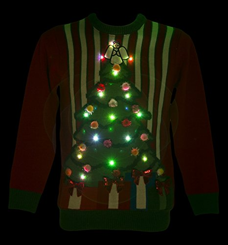 Coolest Light-Up Cheesy Christmas Sweater