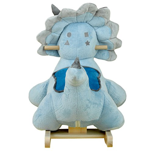 Cute and Fun Dinosaur Plush Rocker
