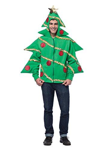 Fun Christmas Tree Hoodie Adult Christmas Sweater