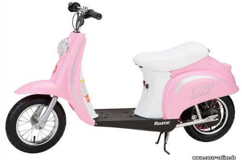 Cute Pink Power Scooter for Girls