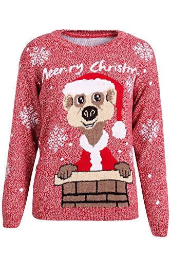 Colorful Christmas Jumper Sweaters for Women