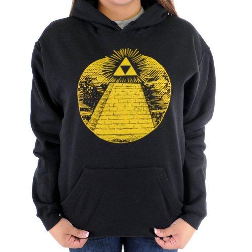 Cool Zelda Triforce Illuminati Pyramid Hoodie