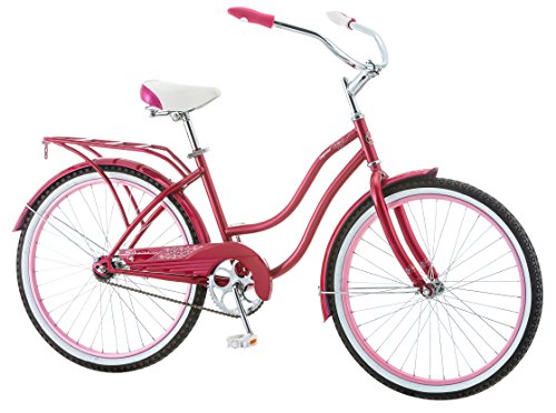 Cute Pink Cruiser Bicycle