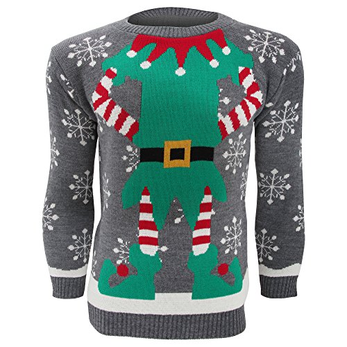 Fun Christmas Elf Sweater