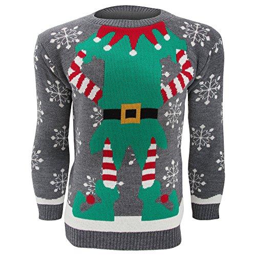 Fun Christmas Elf Sweater