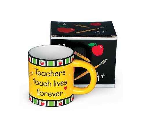 Teachers Touch Lives Forever Coffee Mug