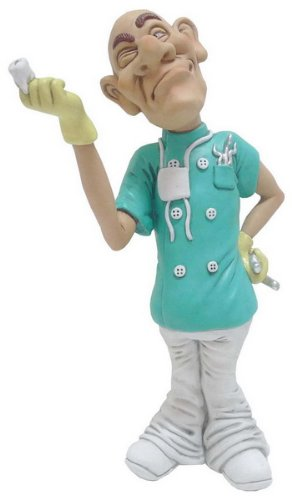 Funny Dentist Collectible Figurine