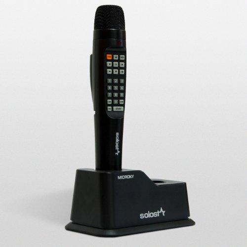MICROKY SOLOSTAR Karaoke Machine with English and Spanish Songs