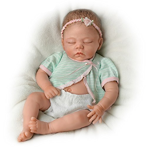 Lifelike Sleeping Baby Girl Doll