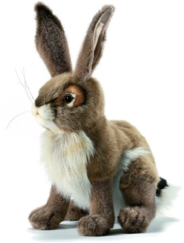 Realistic Plush Rabbit