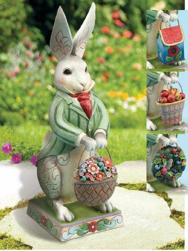 cute bunny statue