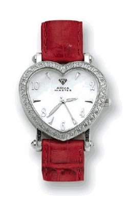 Romantic Diamond Heart Shaped Watch