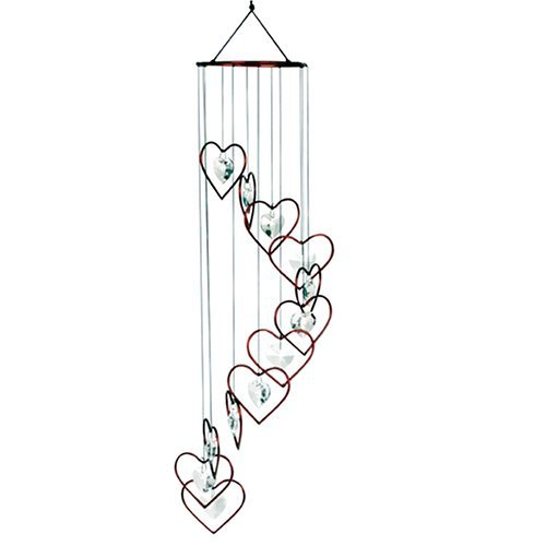 Cute Heart Shaped Wind Chimes