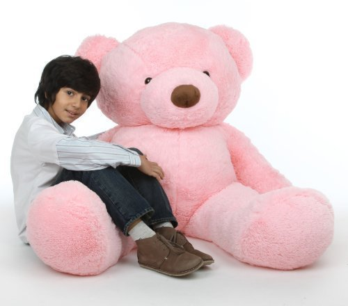 PINK Giant Plush Teddy Bear
