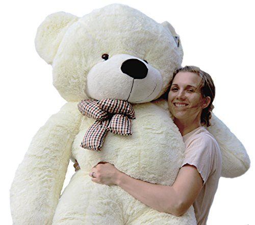 Giant WHITE Teddy Bear for Sale