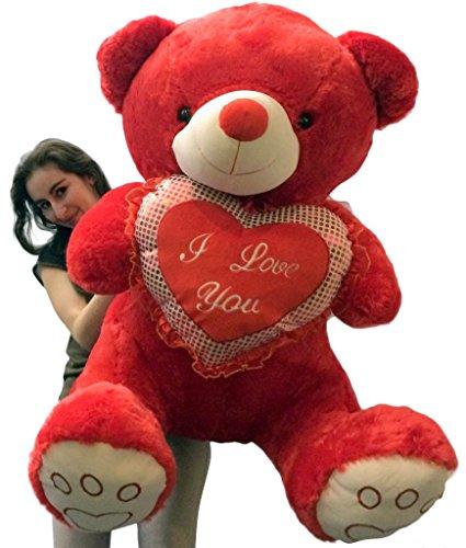 Giant Soft Valentine RED Teddy Bear