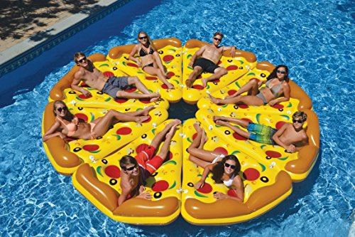 Giant Inflatable Pizza Slice Float