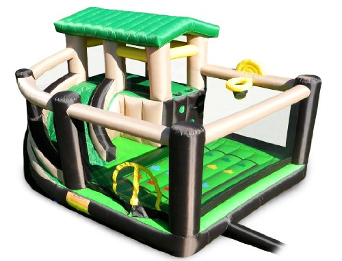Sports Theme Bouncing House for Toddler Boys