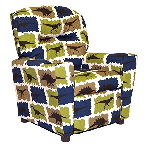 Dinosaur Print Recliner for Boys