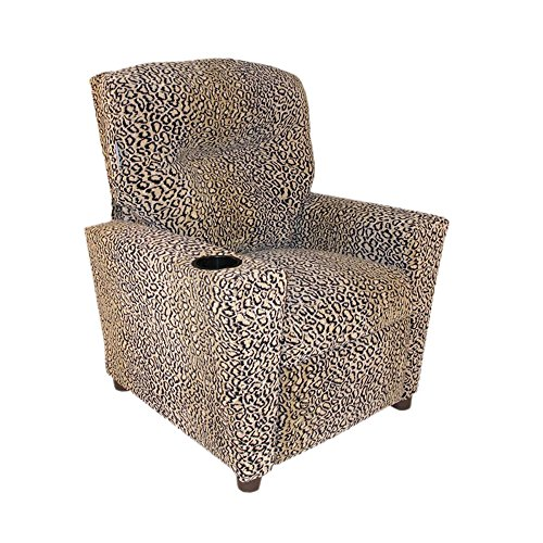 Cute Animal Print Kids Recliner
