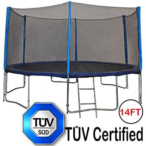 Affordable Outdoor Trampolines with Enclosure