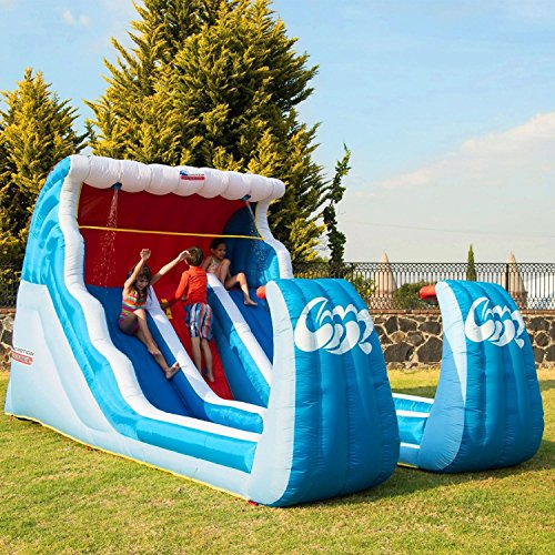 Double Slide N Shoot Basketball Water Slide