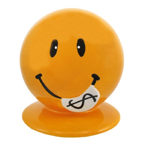 Cute Smiley Face Money Bank