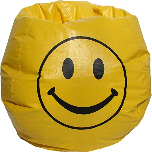 Yellow Smiley Face Bean Bag