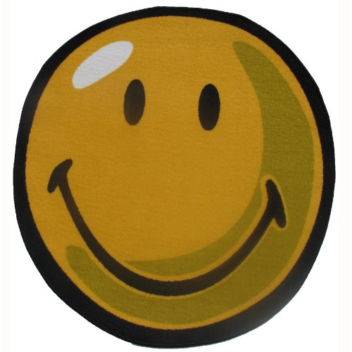 Smiley Face Area Rug