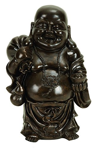 Happy Laughing Buddha Peace Prosperity Statue