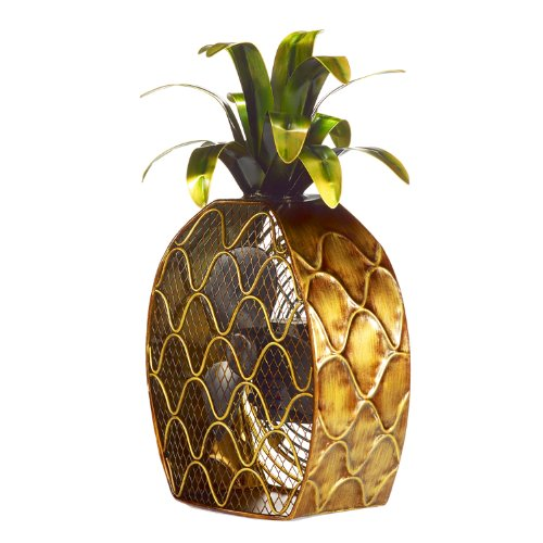 Pineapple-Shaped Decorative Fan