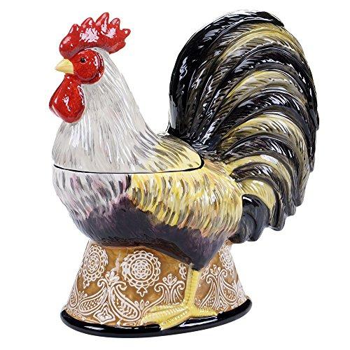 Vintage Rooster 3D Cookie Jar