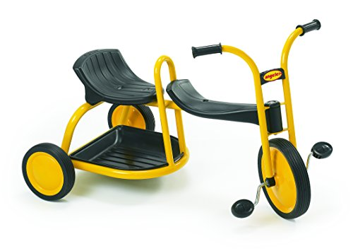 Yellow Tricycle for TWO Kids