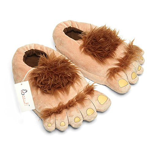 Funny Hairy Feet Slippers