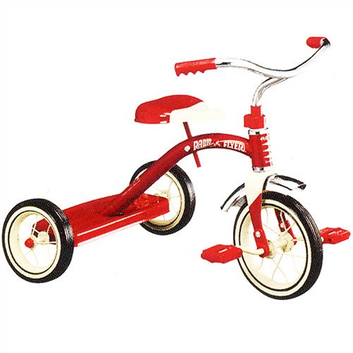 Radio Flyer Classic Red Trike for Toddlers
