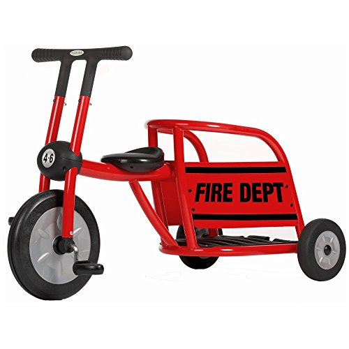 Cute Red Fire Truck Tricycle
