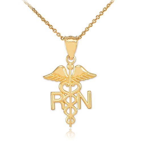Registered Nurse Pendant Necklace