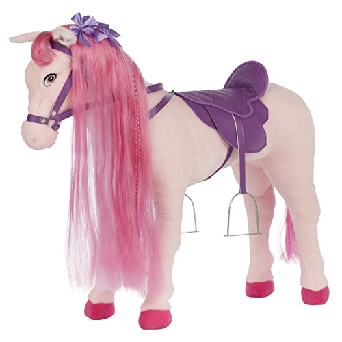 Pink Horse Ride On